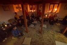 Interaktivní koncert meditační hudby