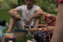 Meditačně - hravý podvečer v parku